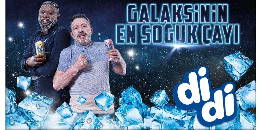 """Didi yeni reklamına """"Galaksinin en soğuk çayı"""" sloganıyla hazırlandı"""