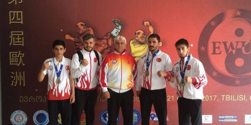 Yalovalı wushucular Gürcistan'dan 4 madalya ile döndü