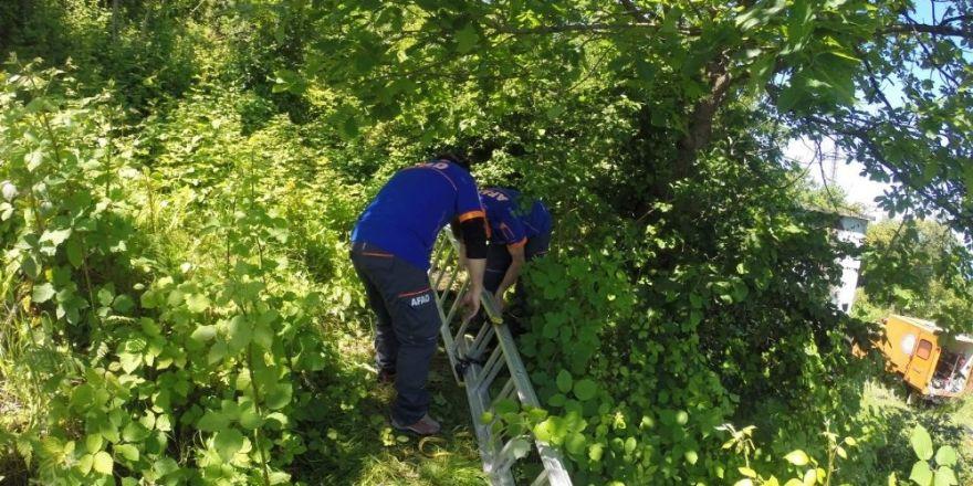 Trabzon'da su kuyusunda kayıp şahsın cesedi bulundu