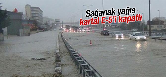 Aşırı Sağanak Yağış Pendik ve Kartal'da Etkili oldu