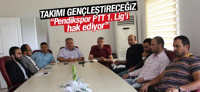 Şaban Yıldırım, Pendikspor PTT 1. Lig'i Hak Ediyor