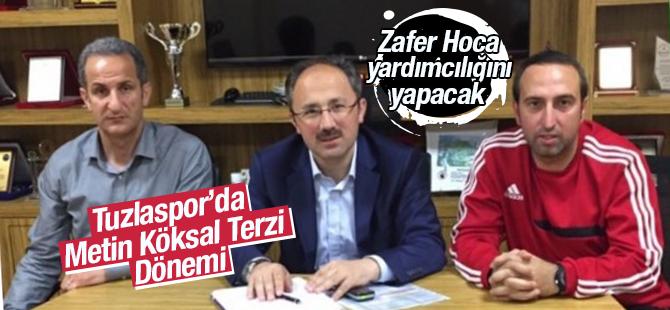 Tuzlaspor'de Metin Köksal Terzi Dönemi