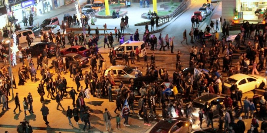 Erzurum'da TFF 1. Lig coşkusu