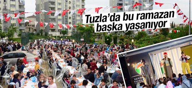 Tuzla'da bu Ramazan Bir Başka Yaşanıyor