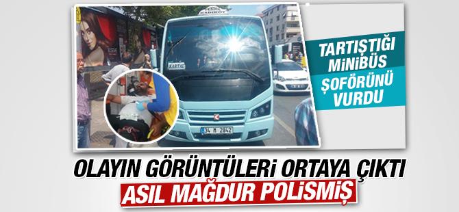 Minibüsçüler Birlik Olup Trafik polisine saldırıdı!