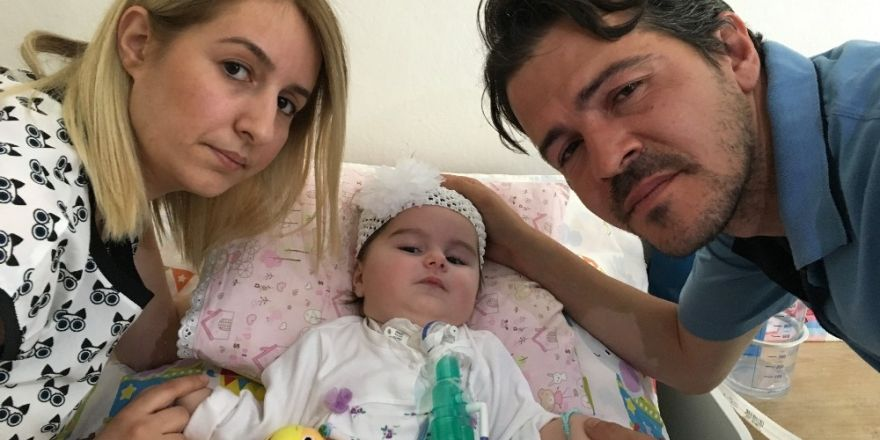 SMA hastası Duru bebeğin yaşaması için ilaca ihtiyacı var