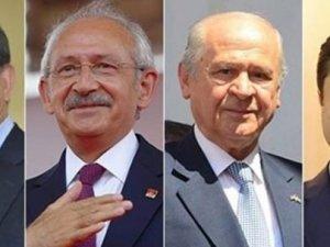Anketlerde AK Parti ve CHP Yükselişte