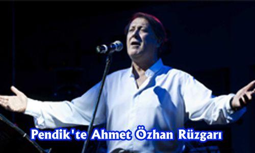 Pendik´te Ahmet Özhan Rüzgarı
