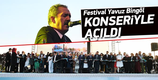 Festival Yavuz Bingöl Konseriyle açıldı