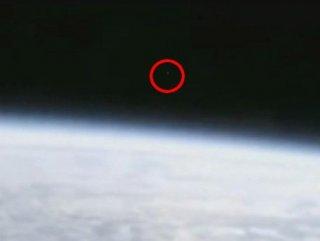 NASA'ya canlı yayını kestiren cisim