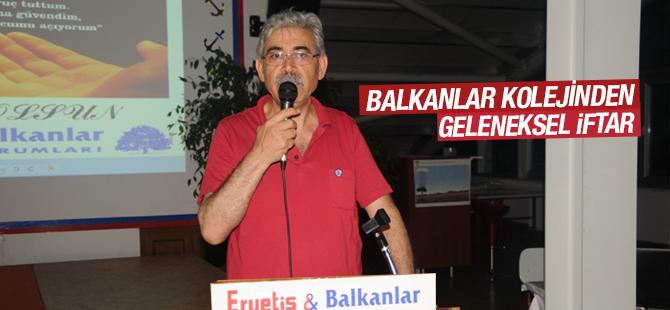Balkanlar Kolejinden Geleneksel İftar