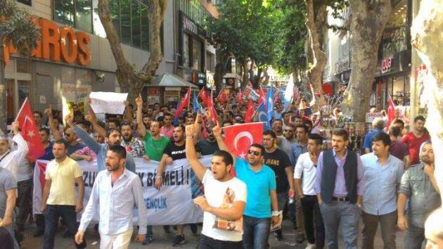Pendik Doğu Türkistan için ayakta!