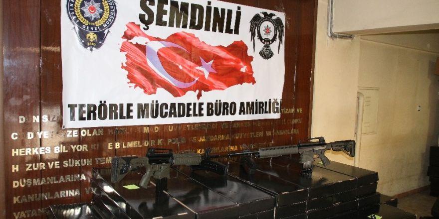 Şemdinli'de 100 adet av tüfeği ele geçirildi