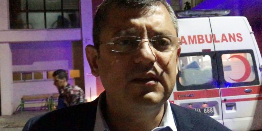 CHP'li Özel'den Kırkağaç'taki askerlerin zehirlenmesiyle ilgili açıklama