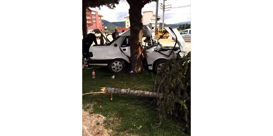 -Korkuteli'de Trafik Kazası 1 Ölü