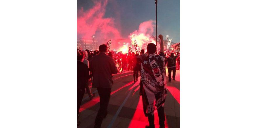 Çanakkale'de şampiyonluk kutlaması