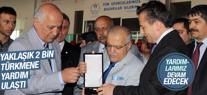 Tuzla Belediyesi'nin Yardım Tırları Türkmenlere Ulaştı