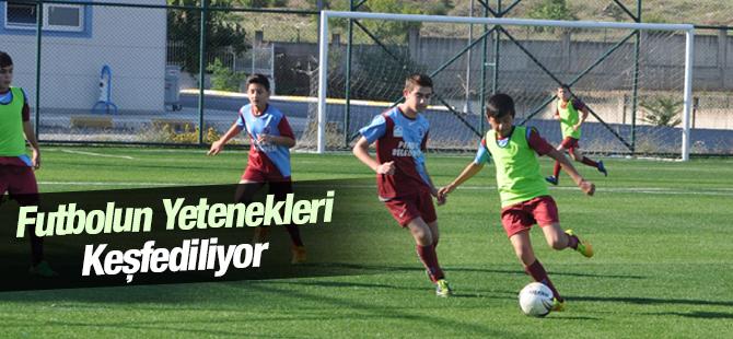 Futbolun Yetenekleri Keşfediliyor