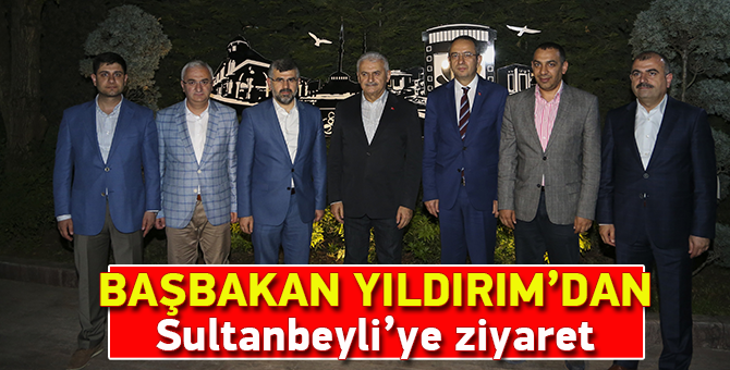 Başbakan Yıldırım'dan Sultanbeyli'ye ziyaret