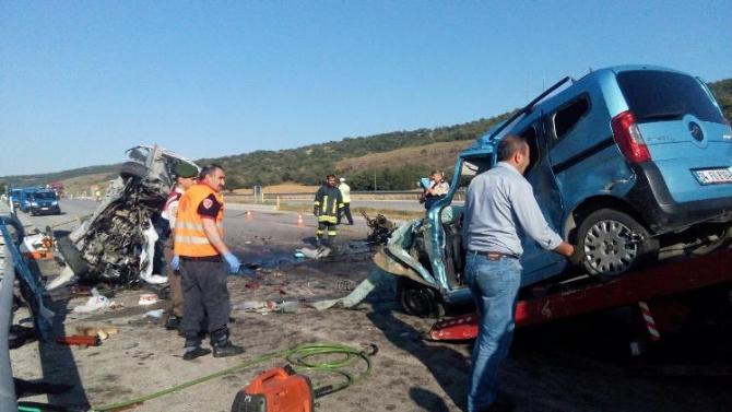 Çorum'da trafik kazası: 6 ölü