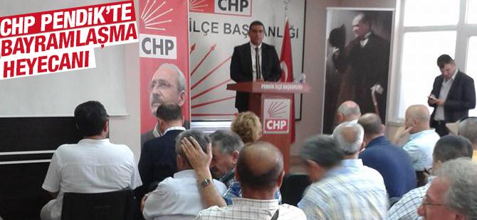 Pendik'te CHP'liler Bayramlaştı