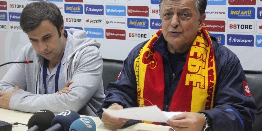 Boluspor-Göztepespor maçının ardından