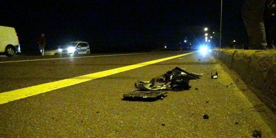 Otomobil çarpıp kaçtı, anneanne yaralandı minik torunu öldü