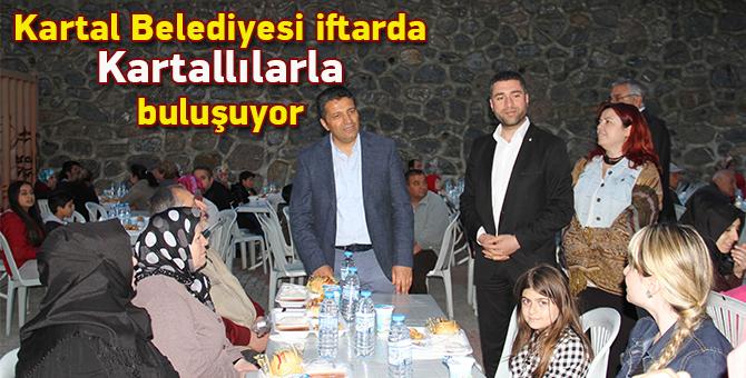 Kartal Belediyesi iftarda Kartallılarla buluşuyor