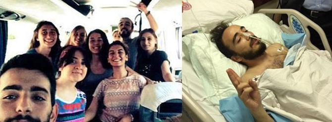 Gezi'de gözünü kaybetmişti Suruç'ta bacağından yaraland