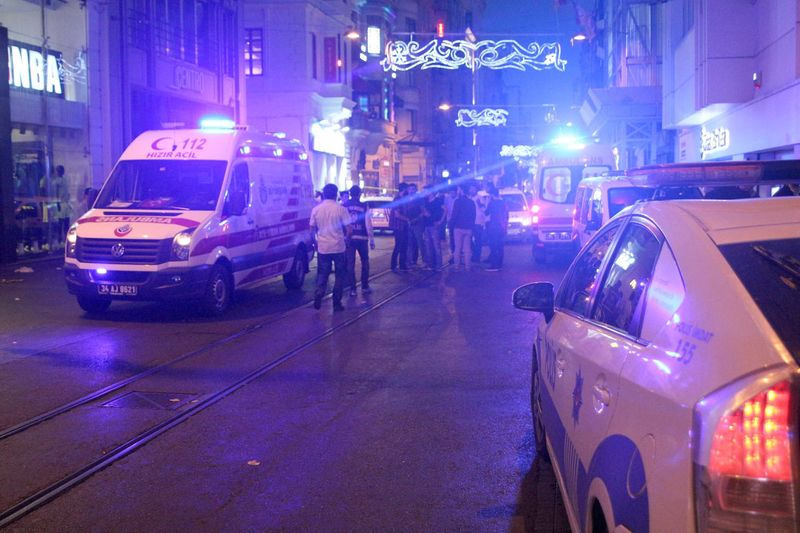 Taksim'de Silahlı Kavga