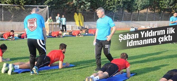 Şaban Yıldırım Pendikspor'la İlk İdmanına Çıktı