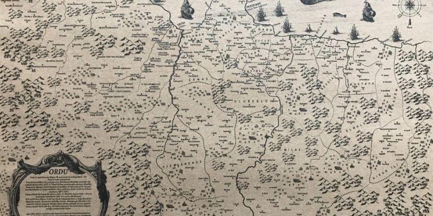 İşte Ordu'nun 1462 tarihli haritası