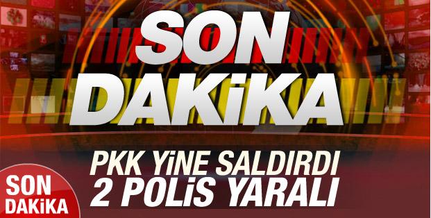 PKK Yine Diyarbakırda Polise saldırdı! 2 polis Yaralı