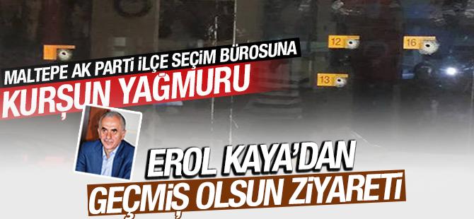 Milletvekili Kaya'dan Zümrütevler Seçim İrtibat Bürosuna Geçmiş Olsun Ziyareti
