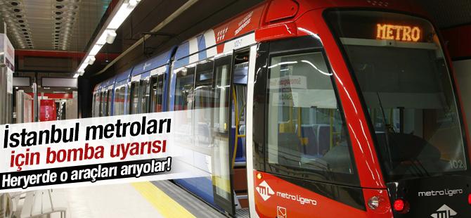 İstanbul Emniyeti Teyakkuzda! Metrolar için bomba uyarısı!