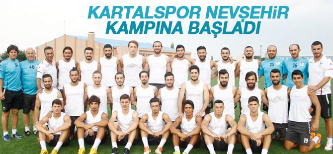 Kartalspor Nevşehir Kampına Başladı