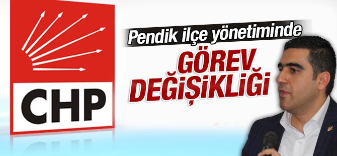 CHP Pendik İlçe Yönetiminde Görev Değişikliği