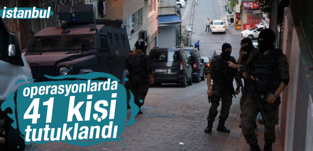 İstanbul'da Terör Örgütlerinin İnlerine Girildi