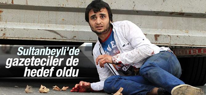 Hain saldırıda gazeteciler de hedef oldu
