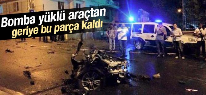 Sultanbeyli Polis Merkezi Saldırısında Kullanılan Araçtan Geriye Kalan!