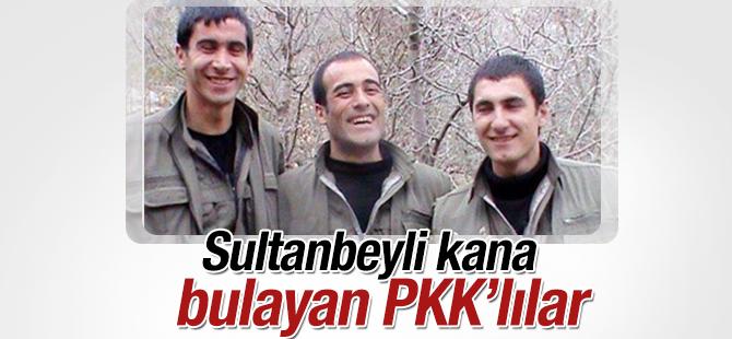Sultanbeyli kana bulayan 3 PKK'lının Kimlikleri