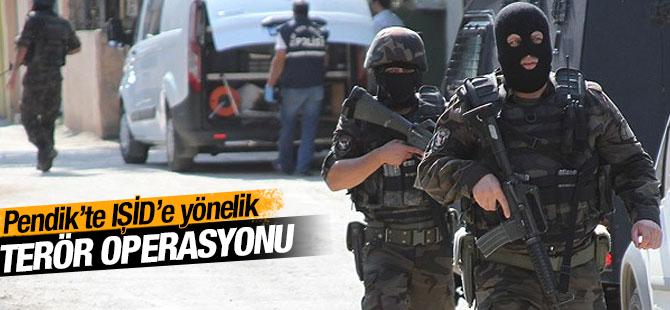 Pendik'te IŞİD'e Yönelik Terör Operasyonu