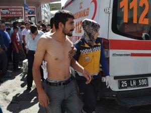 Erzurum'da sigara kavgası