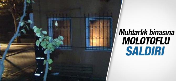 Maltepe Fındıklı Mahalle Muhtarlığına Saldırı
