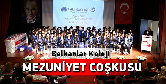 Yakacık Balkanlar Koleji Yıldızlarının  Mezuniyet Coşkusu