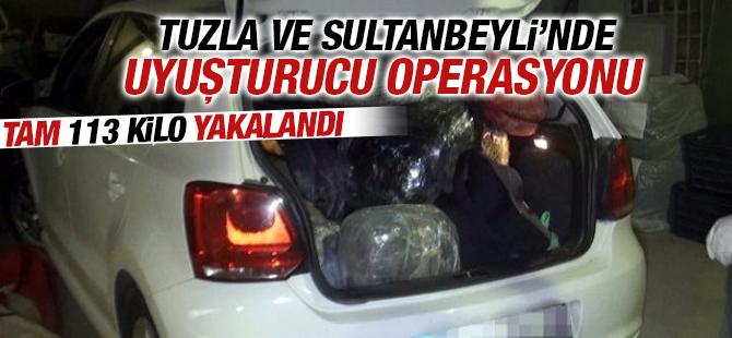 Operasyonda 113 Kilo Uyuşturucu Yakalandı