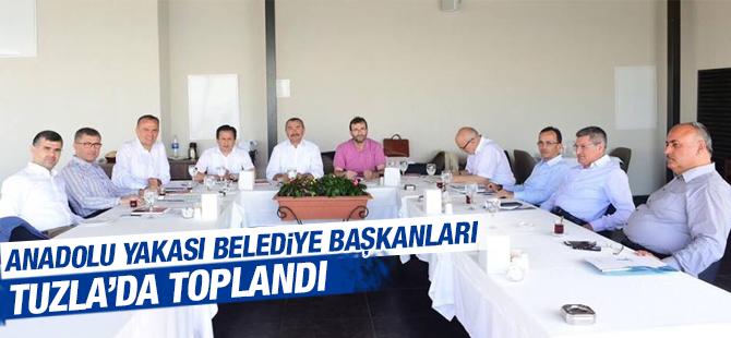 AK Partili Başkanlar Tuzla'da Toplandı
