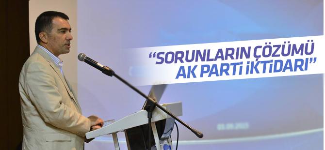 Rüstem Kabil: Sorunların Çözümü AK Parti İktidarı