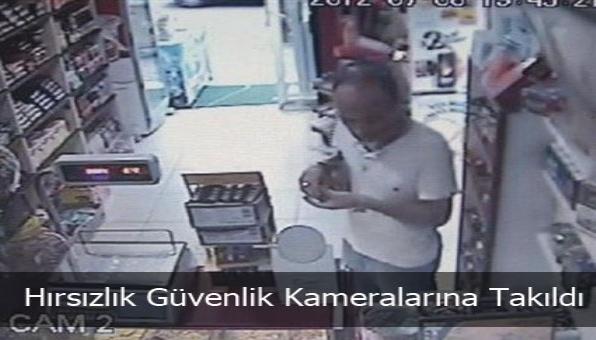Hırsızlık Güvenlik Kameralarına Takıldı