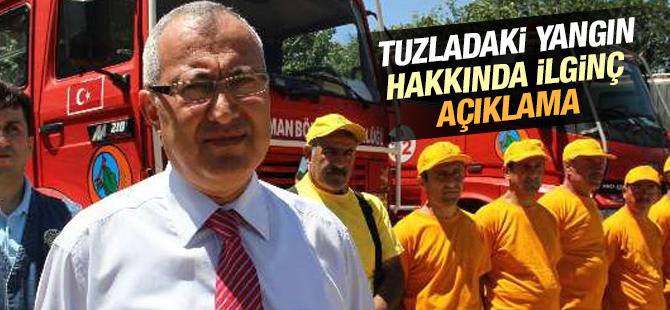 Orman Bölge Müdürü'nden Tuzla'daki Yangınla İlgili Açıklama